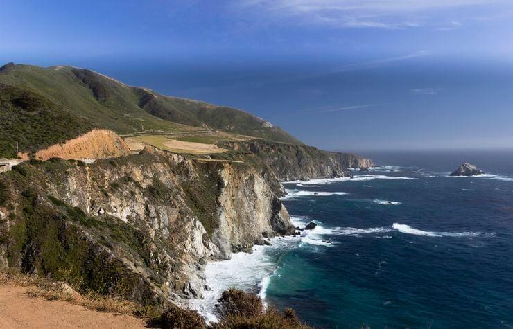 Big Sur Cliffs, California