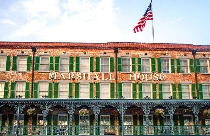 The Marshall House, Savannah, Georgia
