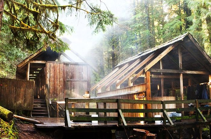 Bagby Hot Springs, Oregon