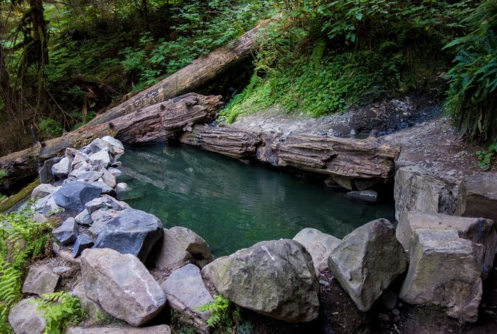 Olympic Hot Springs, Port Angeles, Washington
