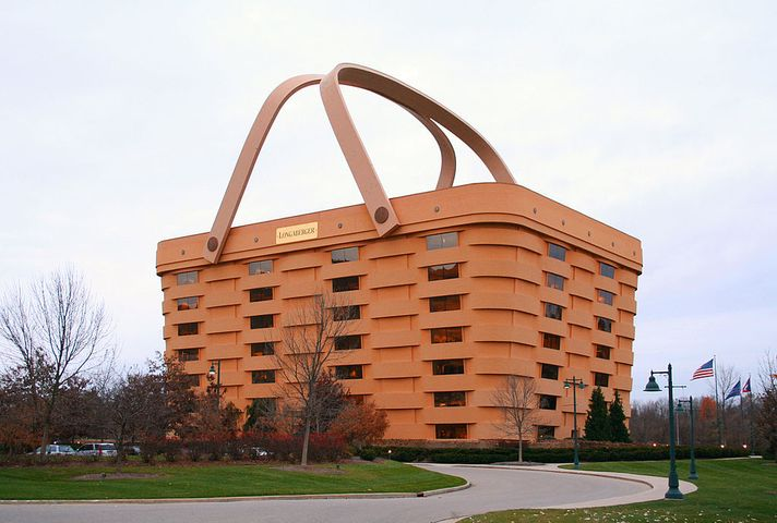 World's Largest Basket Building, Newark, Ohio