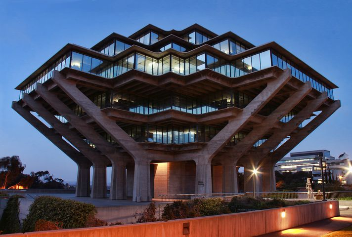 UCSD Geisel Library, San Diego, California