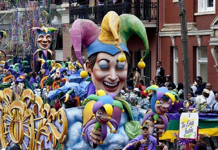 New Orleans Mardi Gras, Louisiana