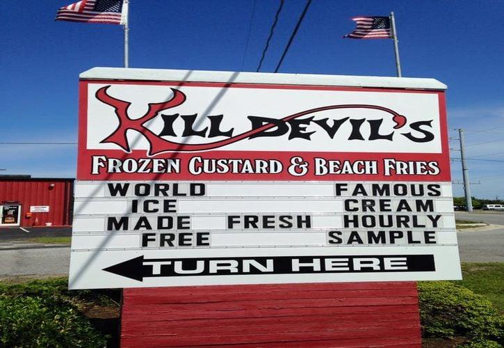 Kill Devil's Frozen Custard and Beach Fries, Inc., Kill Devil Hills, North Carolina
