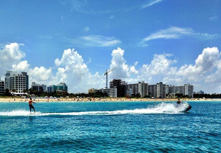 Jet Skiing in Miami