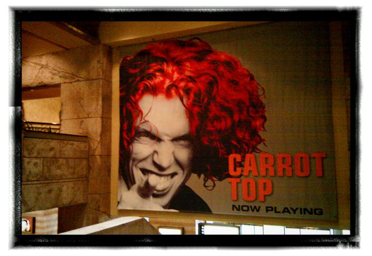 Carrot Top at Luxor