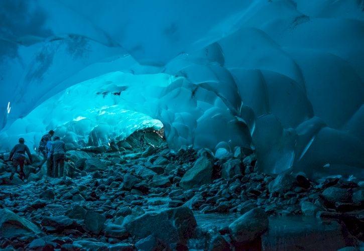Mendenhall Glacier Cave, Alaska