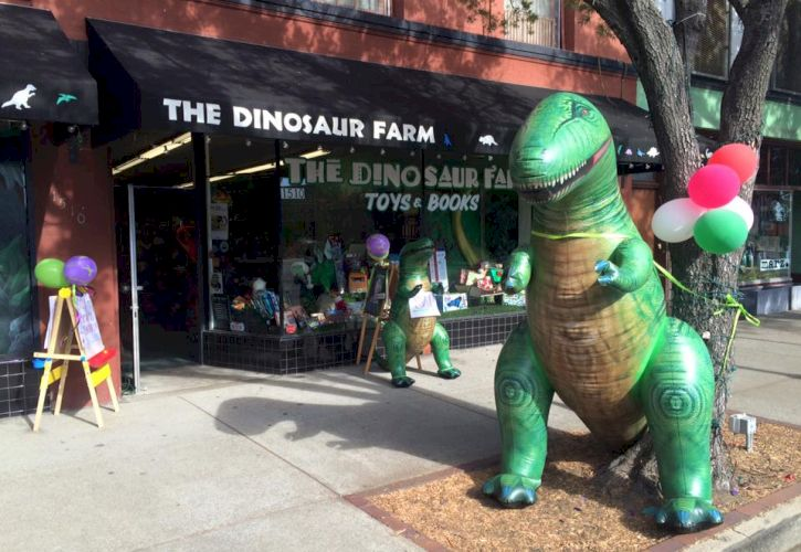 The Dinosaur Farm, South Pasadena, California