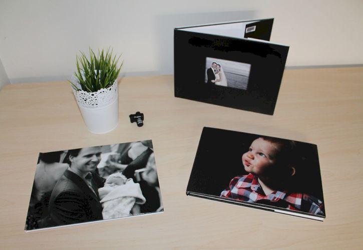 Make hardcopy photo albums with them