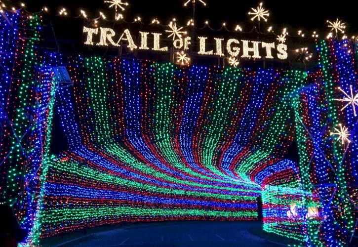 Trail of Lights, Austin, Texas