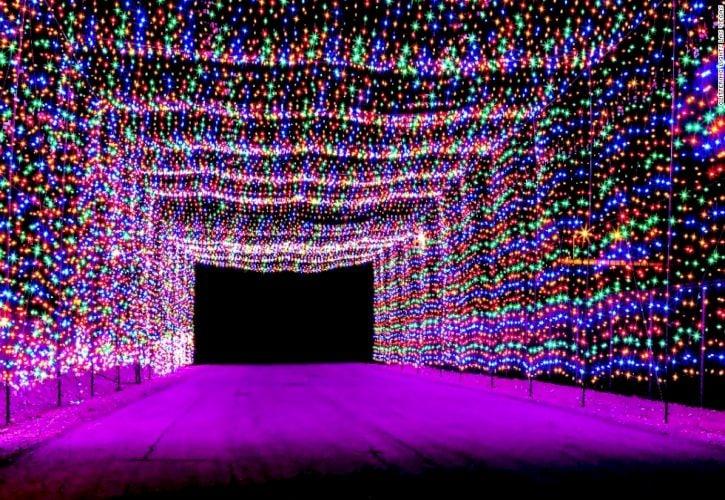 Glittering Lights at Las Vegas Motor Speedway, Las Vegas, Nevada