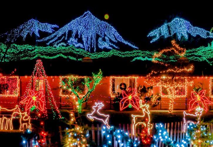 The Lights of Christmas, Stanwood, Washington