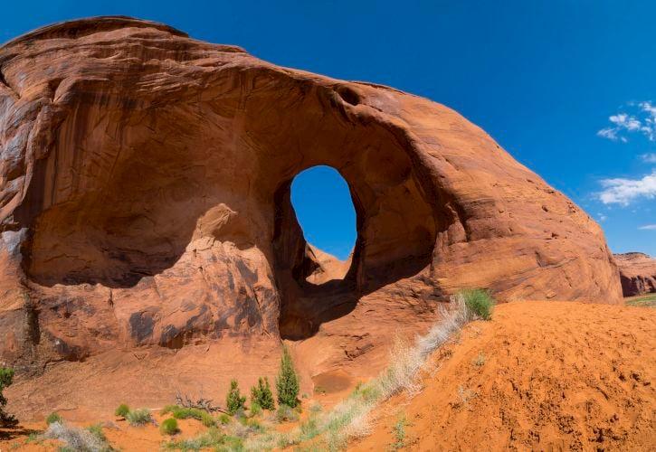 Ear of the Wind Arch, Arizona