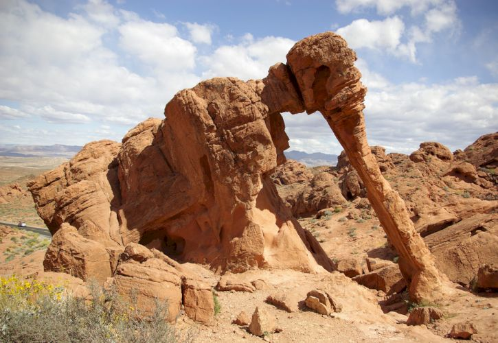 Arch Rock, Valley of Fire State Park, Nevada