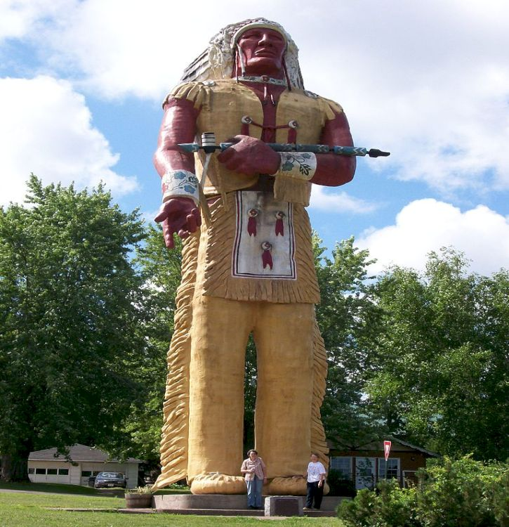 Hiawatha, Hiawatha Park, Ironwood, Michigan