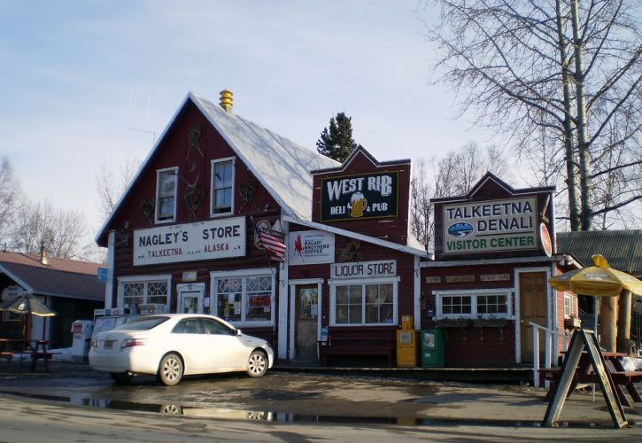 Talkeetna in Alaska