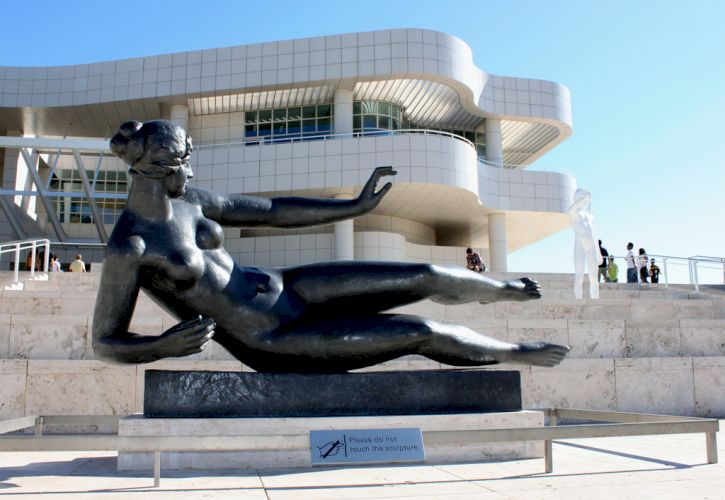 The J Paul Getty Museum, Los Angeles, California