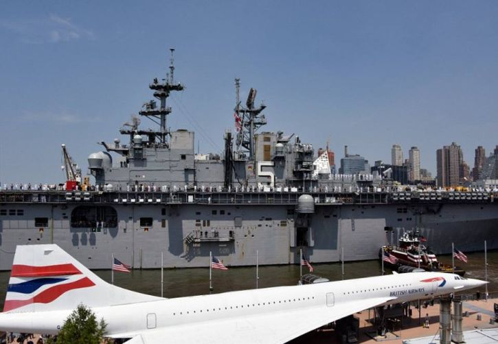 Intrepid Sea, Air, and Space Museum: New York, New York