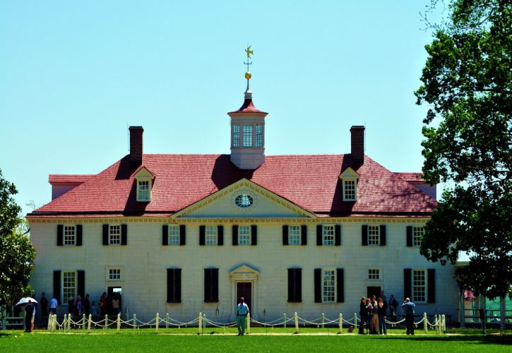 George Washington's House, Mount Vernon, Virginia