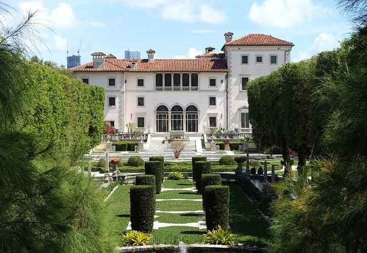 Vizcaya Museum and Gardens, Miami, Florida