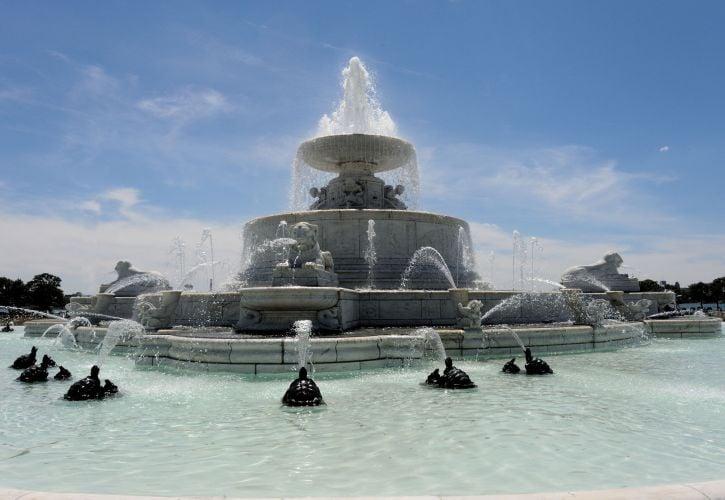 Scott Memorial Fountain – Detroit, Michigan