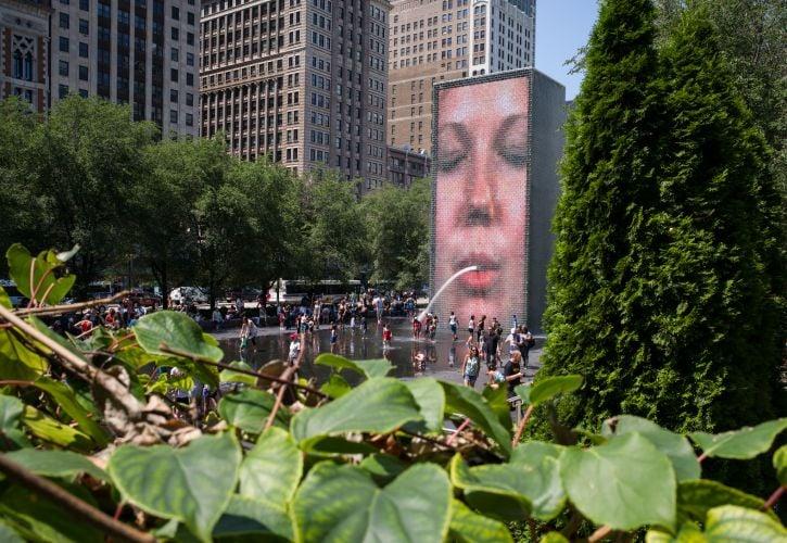 Crown Fountain – Chicago, Illinois