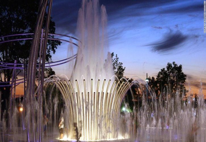 Scioto Mile Fountain – Columbus, Ohio