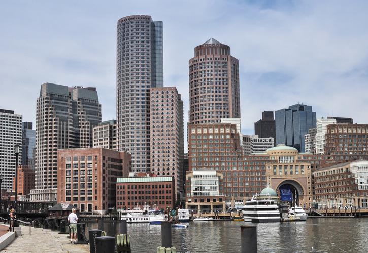 Boston Harborwalk, Boston, Massachusetts