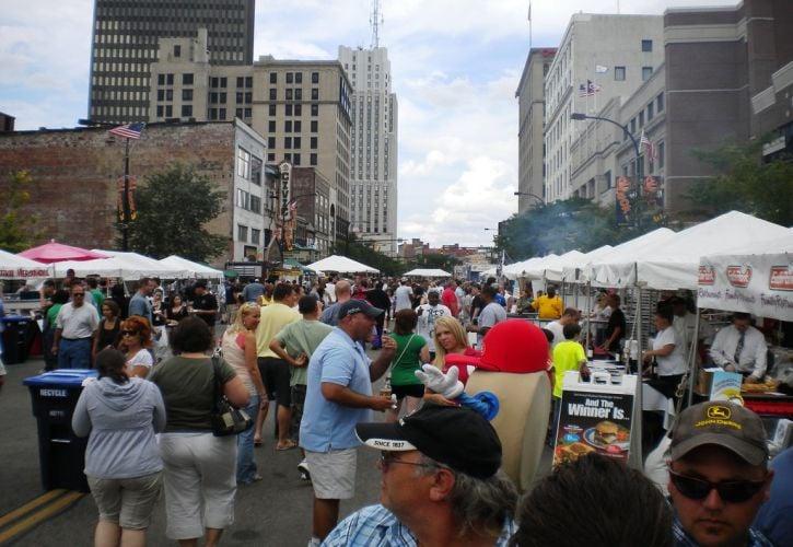 National Hamburger Festival - Akron, Ohio