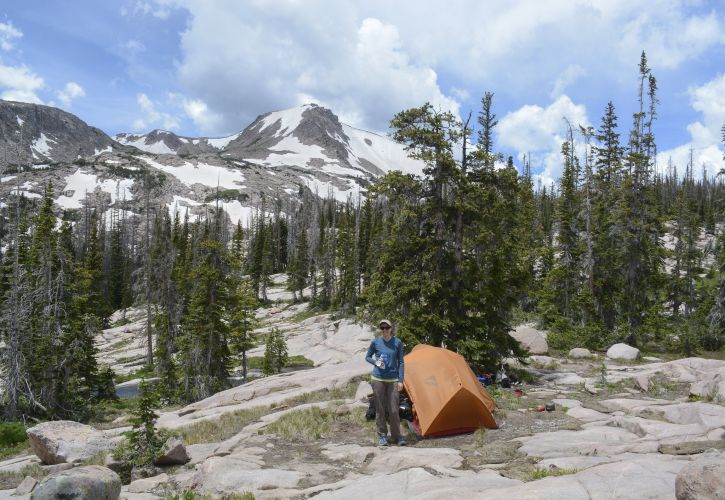 Wilderness camping/backpacking