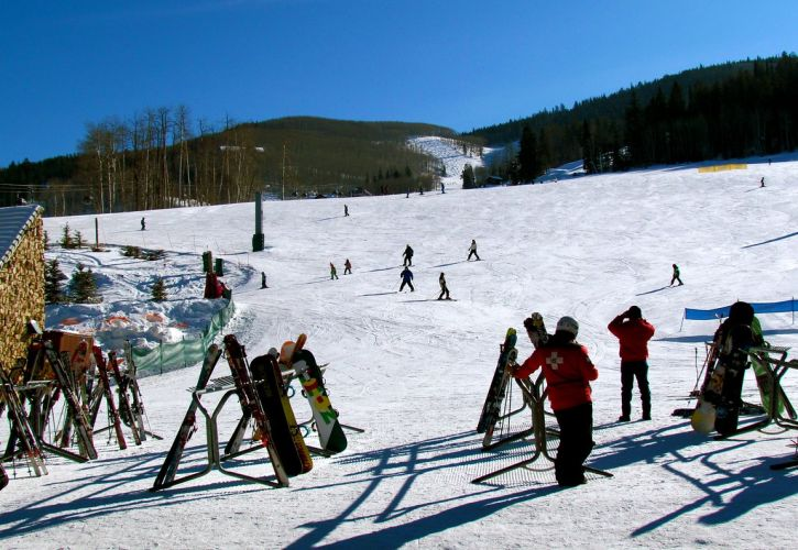 Snowshoeing or Cross-Country Skiing