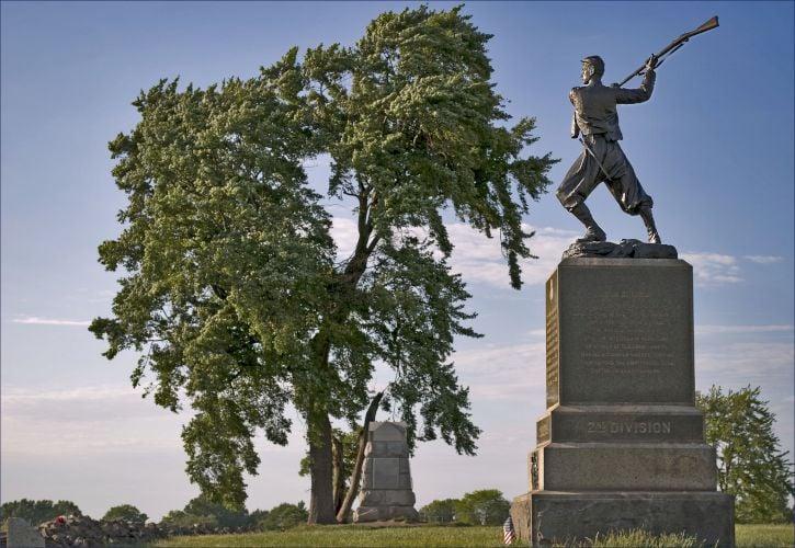 Gettysburg National Military Park, Gettysburg, Pennsylvania