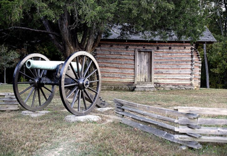 Chickamauga and Chatanooga National Military Park; Fort Oglethorpe, Georgia and Chattanooga, Tennessee
