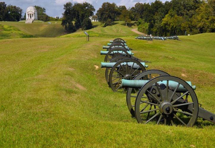 Vicksburg National Military Park, Vicksburg, Mississippi