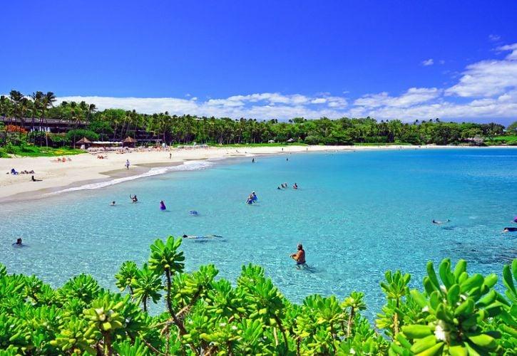 Kaunaʻoa (Mauna Kea) Beach