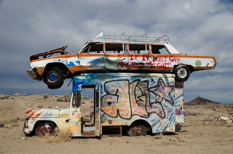 The International Car Forest, Nevada