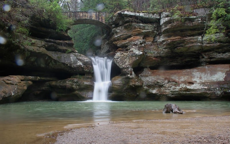 Old Man's Cave Waterfalls – Hocking Hills State Park