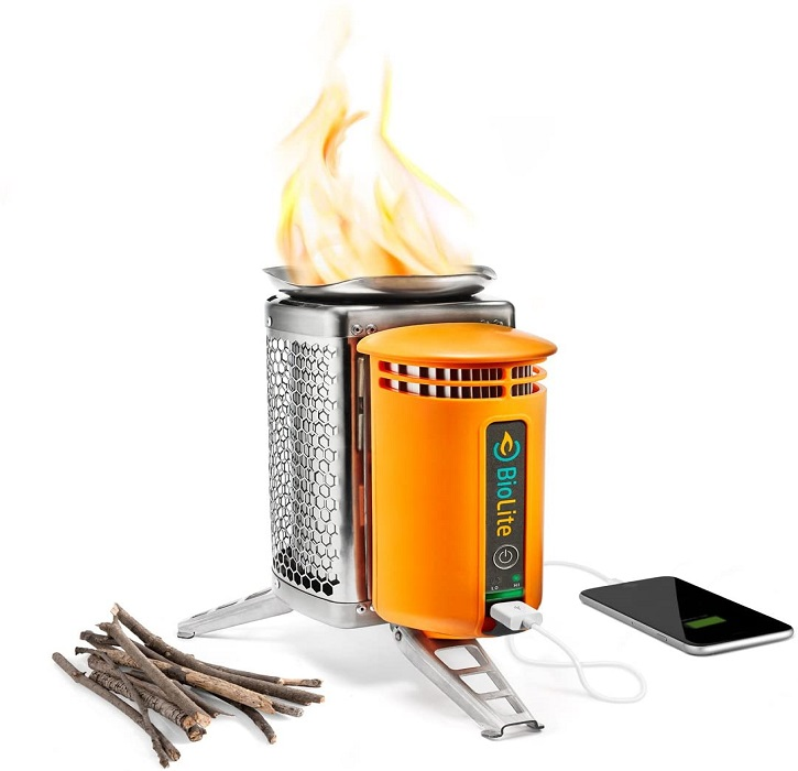 Portable Wood Burning Campstove