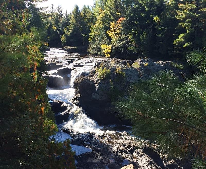 Potato River Falls