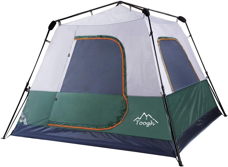 Toogh 3-4 Person Instant Camping Tent