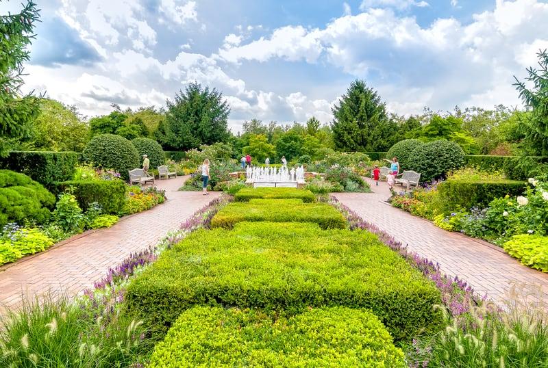 Chicago Botanic Garden, IL