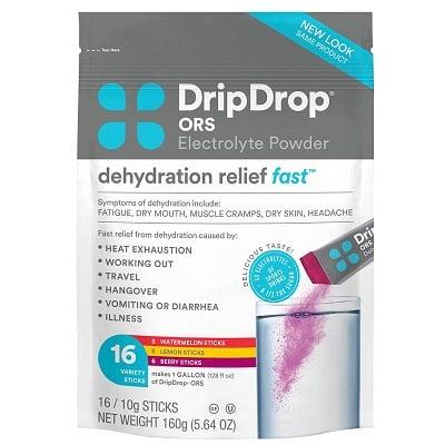 Drip Drop Electrolyte Powder