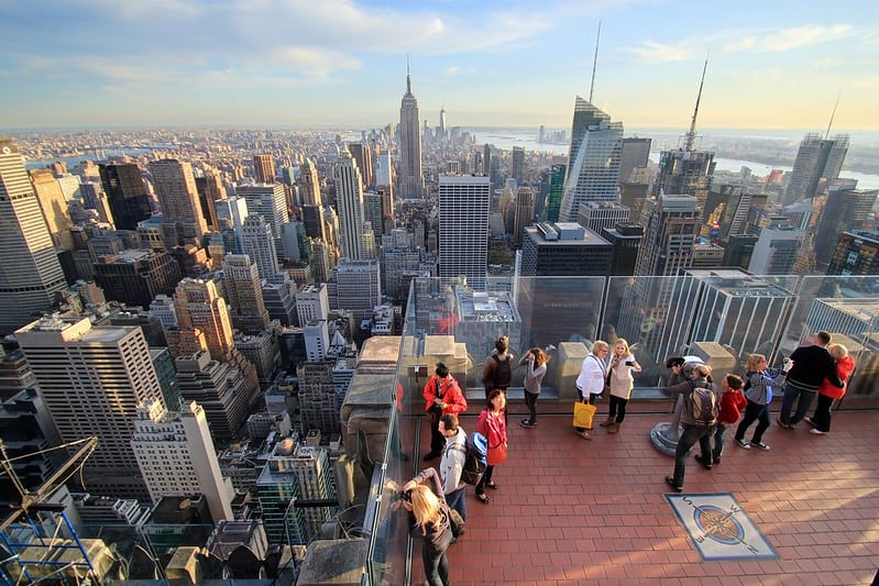 Top of the Rock Observation Deck - New York, NY
