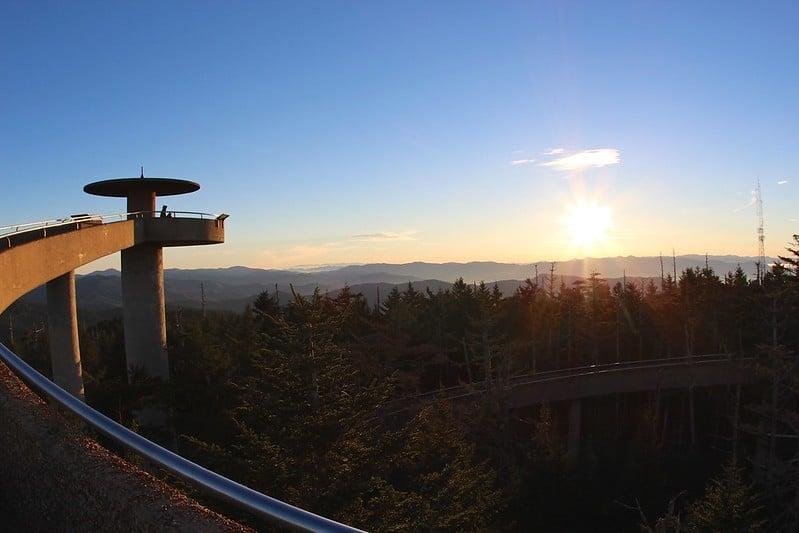 Clingmans Dome Observation Tower, Gatlinburg, TN
