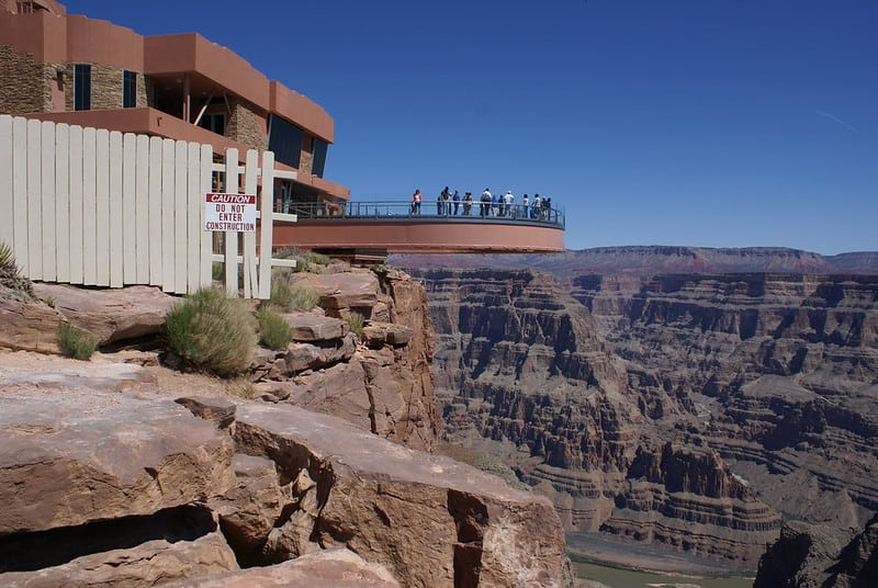 Eagle Point Skywalk at the Grand Canyon