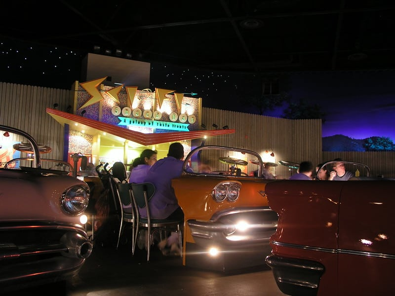 Enjoy a Drink or Snack at a Quick-Service Restaurant