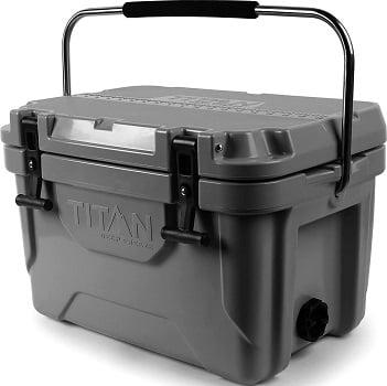 Titan Deep Freeze Premium Ice Chest Roto Cooler