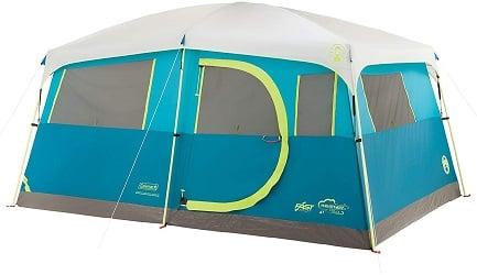 Coleman 8-Person Tenaya Lake Cabin Tent With Closet