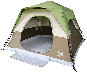 Timber Ridge Instant Cabin Tent with Rainfly