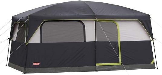 Coleman Prairie Breeze Lighted Cabin Tent